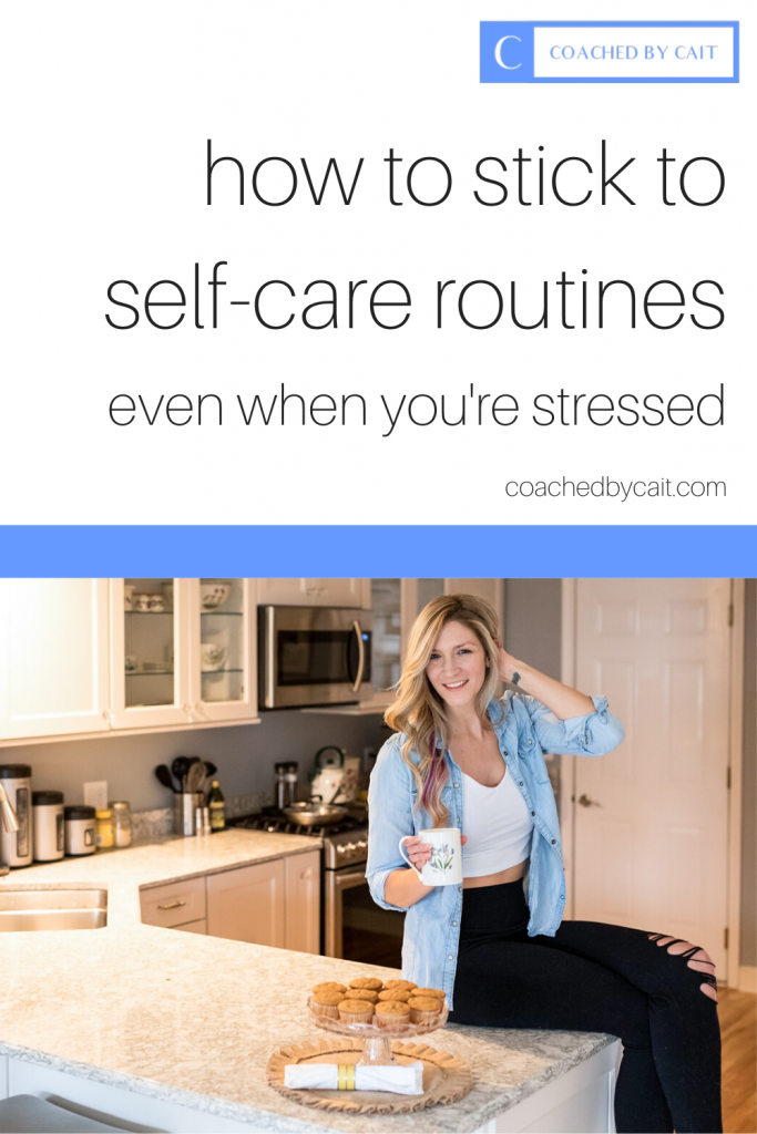 During times of high stress, self care through nutrition, exercise and hydration go right out the window! In this post, I'll give you some tips on how you can fix this. Repin and grab my free e-book that dives into macronutrients!